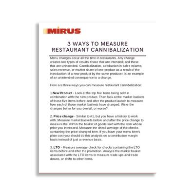 3 Ways to Measure Restaurant Cannibalization Graphic