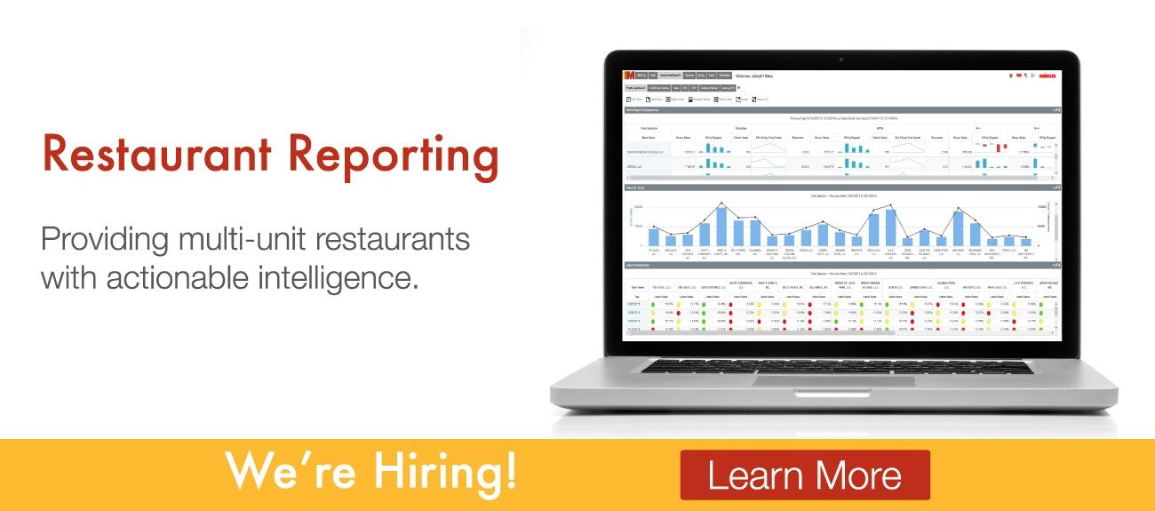 Mirus Restaurant Reporting