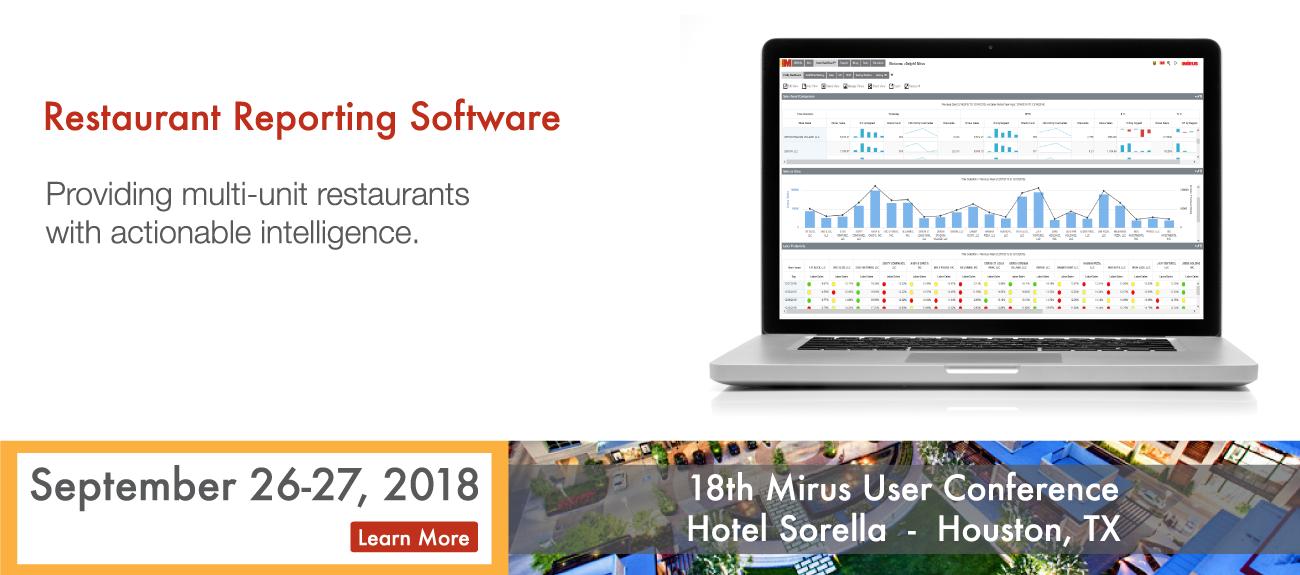 Restaurant Reporting Software