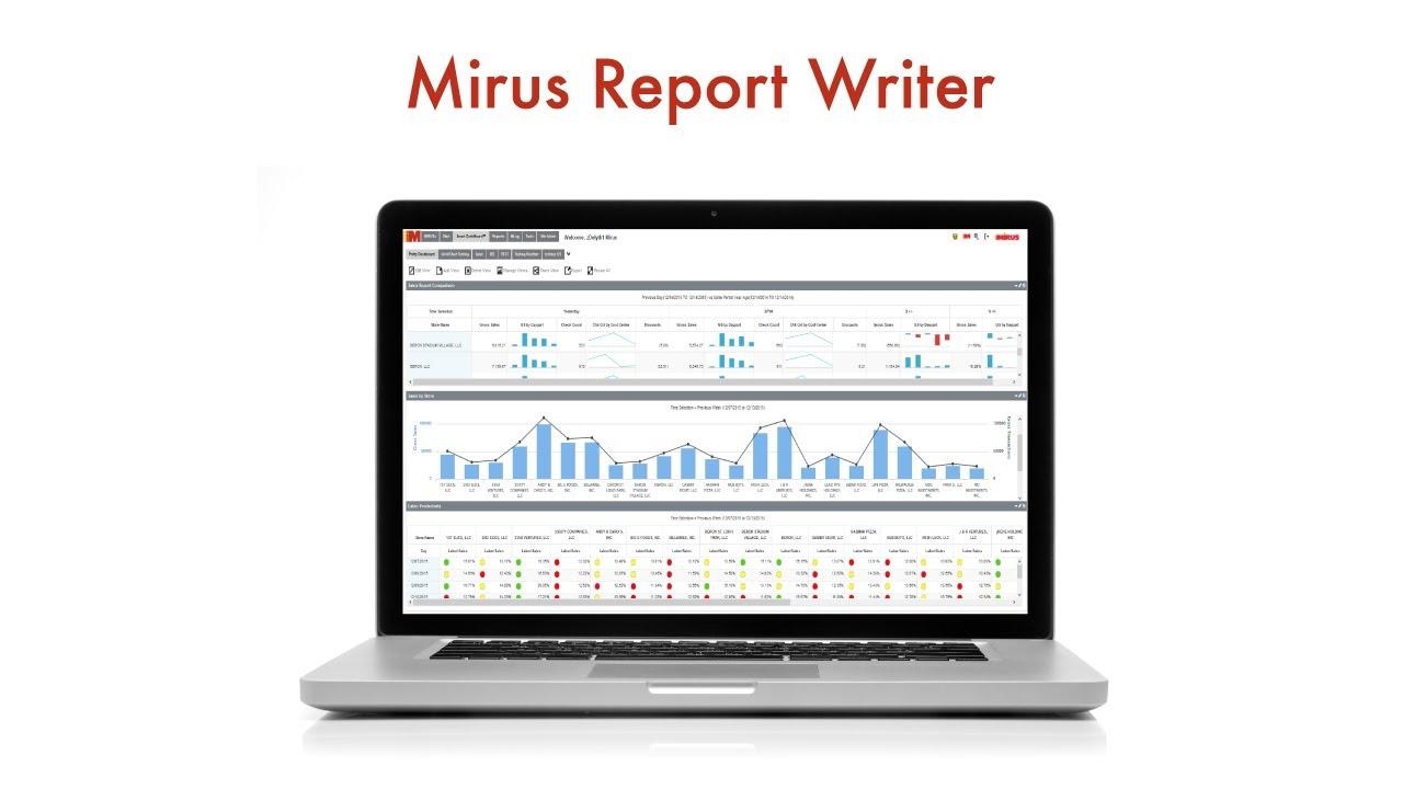 Mirus Report Writer